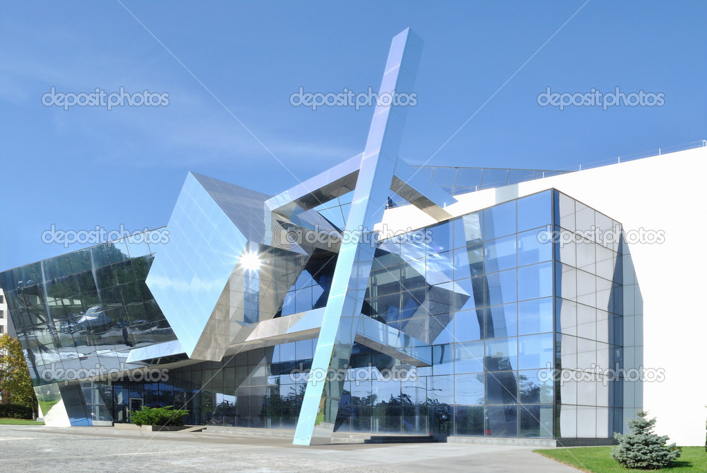 The example of cubism in modern architecture stock photo - Cubismo arquitectura ...