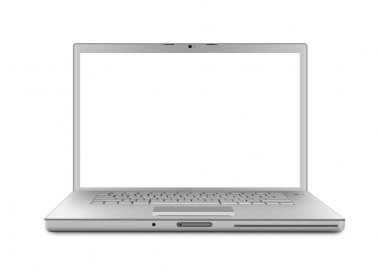 Laptop isolated - XL