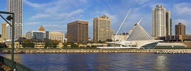 Morning panorama of Milwaukee