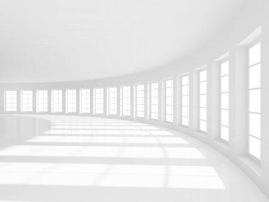 Empty Hall Background