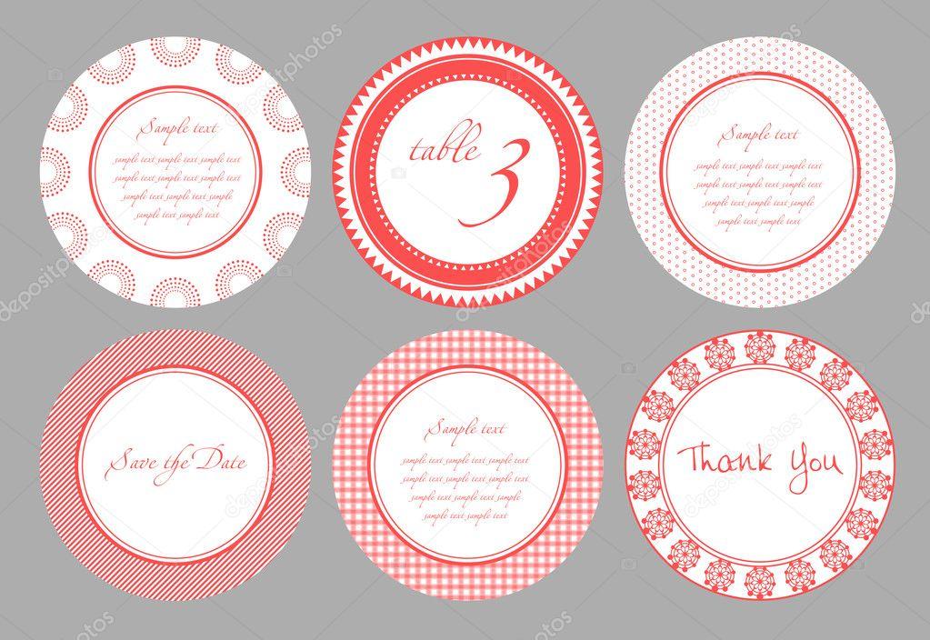 Invitation card template for wedding, birthday, anniversary