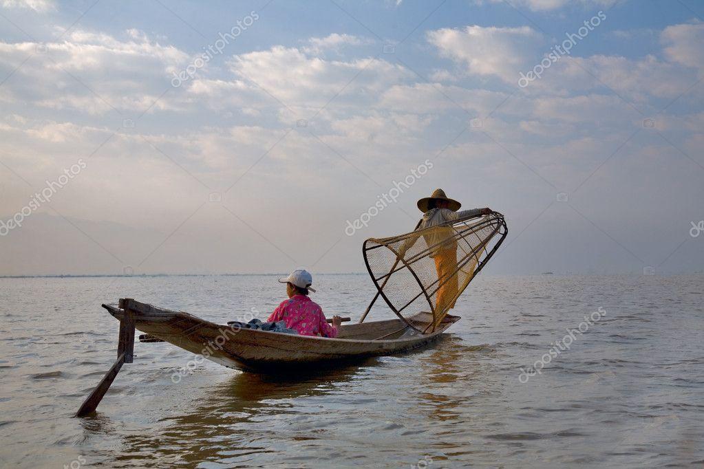 Fishermens at Inle lake