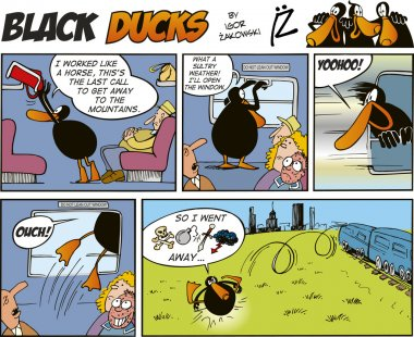 Black Ducks Comics episode 30