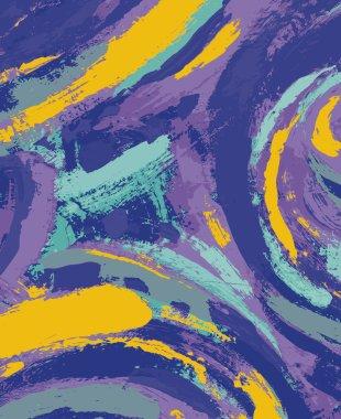 """Картина, постер, плакат, фотообои """"абстрактная живопись маслом натюрморт копия картина заказать"""", артикул 4956742"""