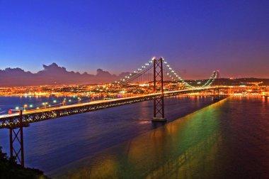 Portugal Bridge on 25 April