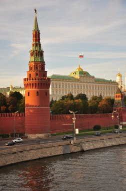 Water supplying tower (Sviblova) and Grand Kremlin Palace