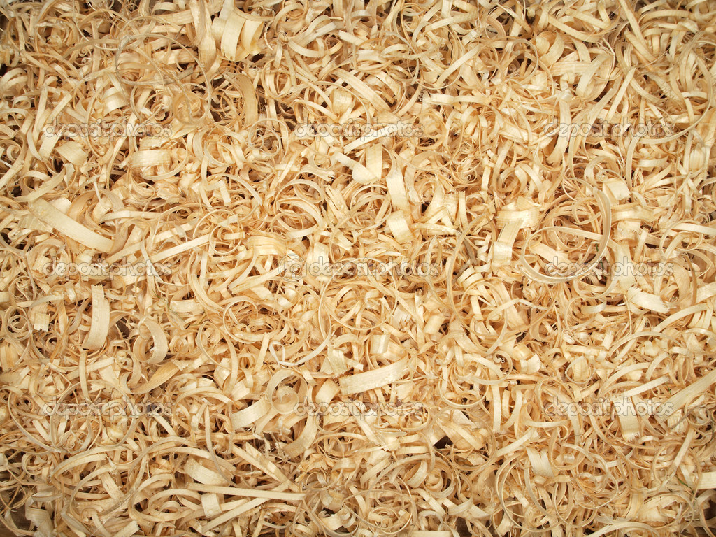 How Different Are Wood Shavings And Sawdust ~ Wood shavings — stock photo sizovin