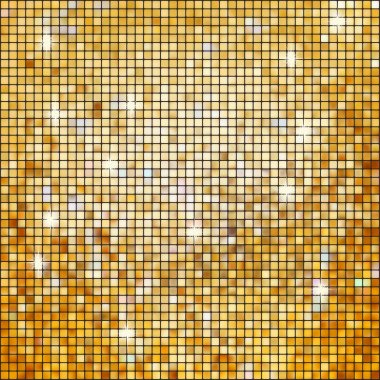 Coloeful squares bright mosaic with light. EPS 8