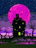 Fotografie Grungy pozadí halloween. EPS 8