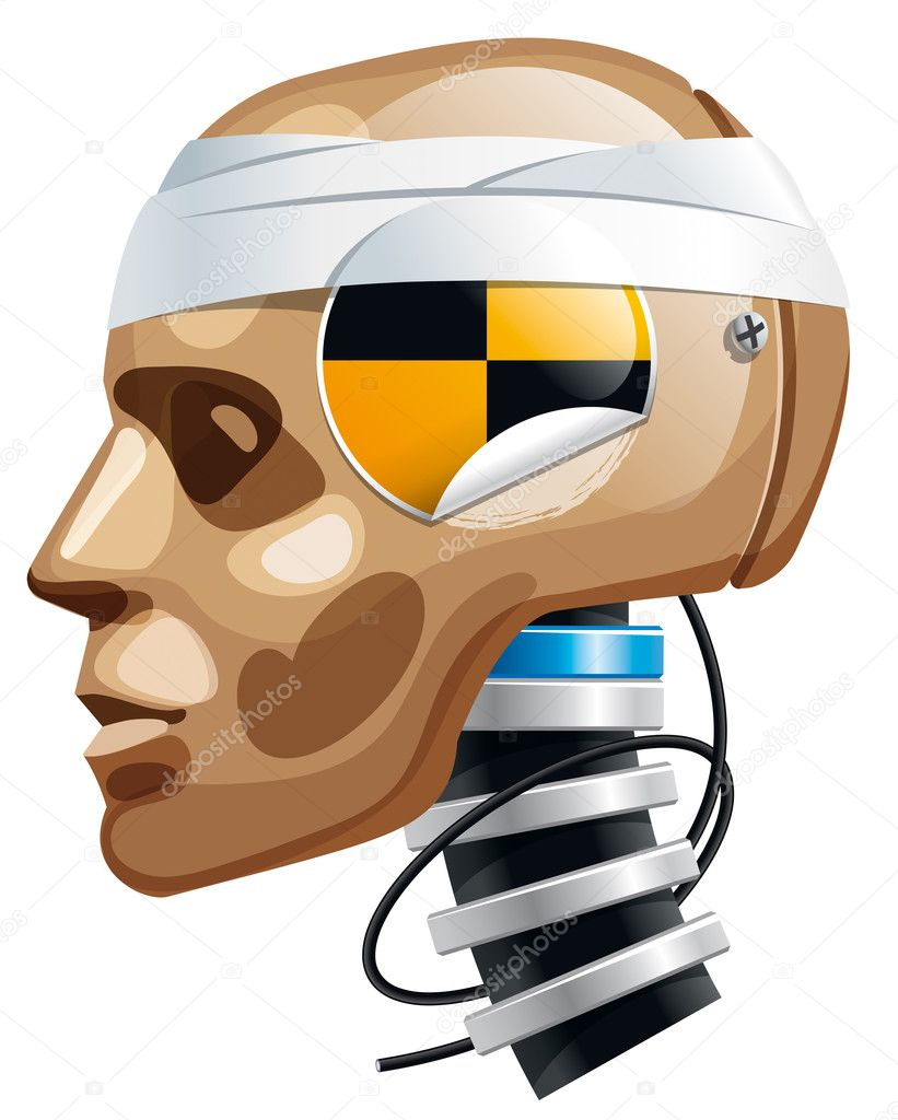 Crash Test Dummy Stock Vector Fixer00 4726890 Originally Posted By Man Head Illustration