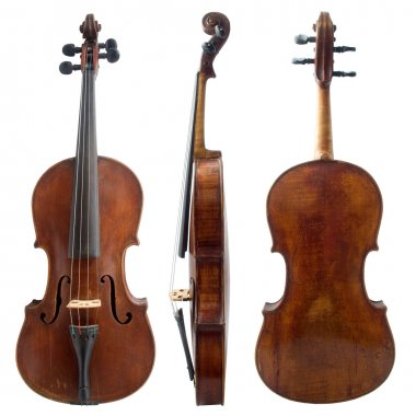 Old violin sides