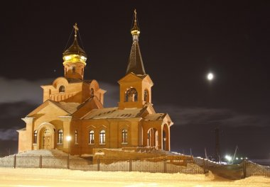 Piously-Vvedensky church, Dudinka, Tajmyr