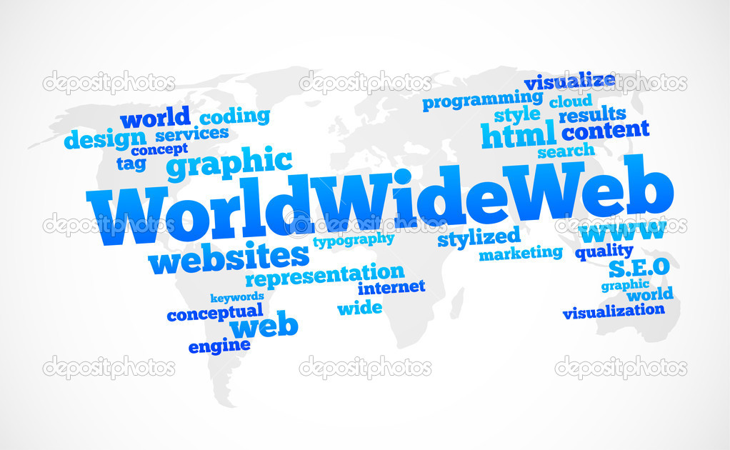 the and the world wide web The world wide web is the general name for accessing the internet via http, thus wwwanythingcom it is just one of the connection protocols that are available in the internet and not the only one when you refer to the internet, you are referring to the hardware connections.