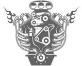 Fotografie Racing engine