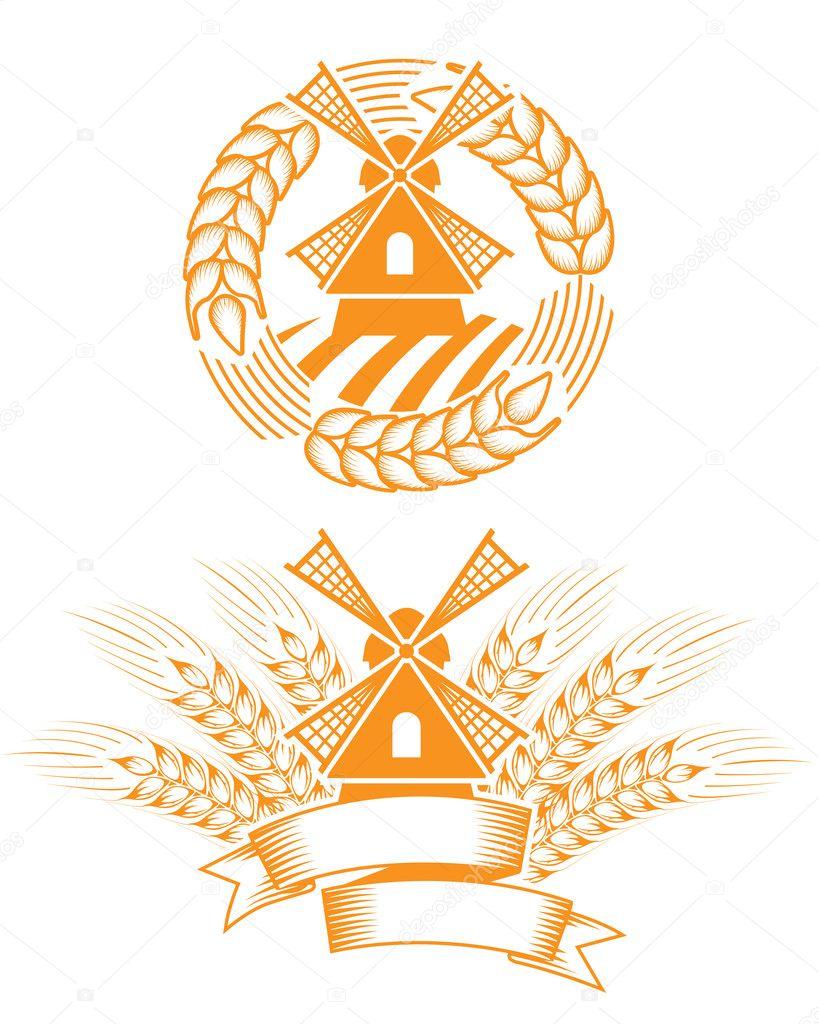 Windmill emblem