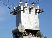 Fotografie der elektrischen Transformator