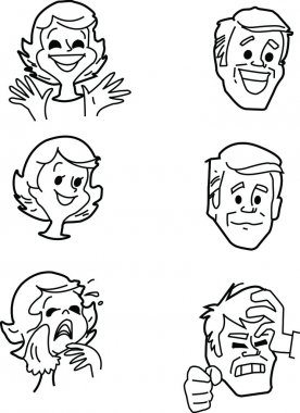 Various emotions