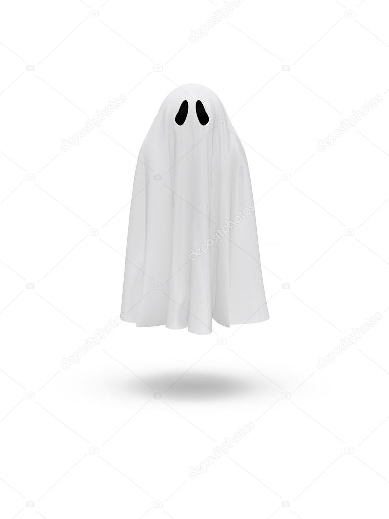 Cute funny ghost