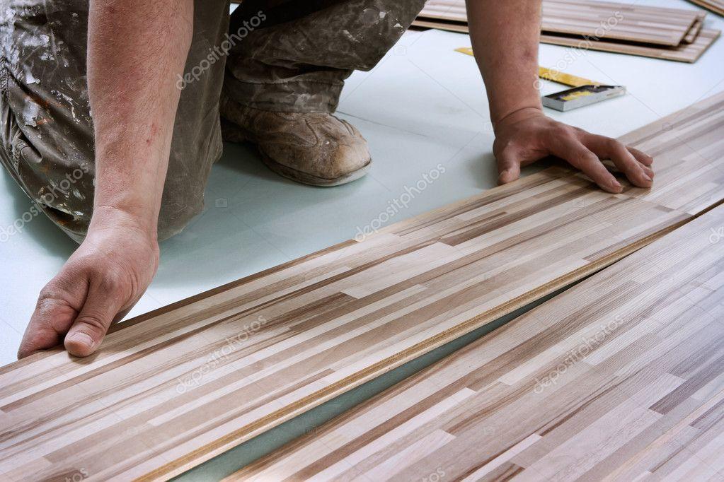 Home improvement, floor installation