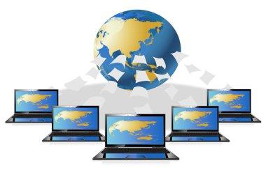 Computer world data center