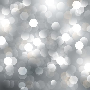 Christmas silver background