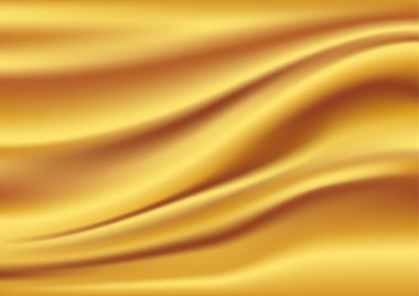 Abstract Vector Texture, Golden silk