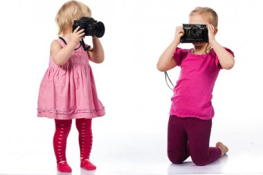 Children photographing