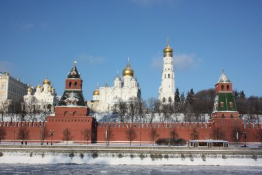Panorama of the Moscow Kremlin.