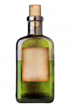 Old fashioned medicine bottle.