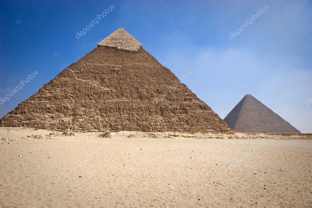 khafrae のピラミッド — ストッ...