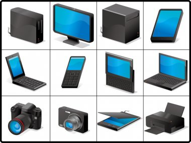 Computer and devices for structure icons