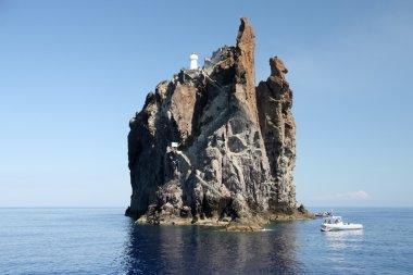 Cliff Strombolicchio, Italy