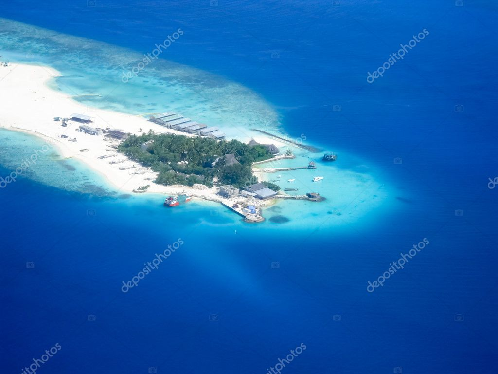 Aerial view on islands