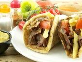 Fotografie gyros nebo kebab