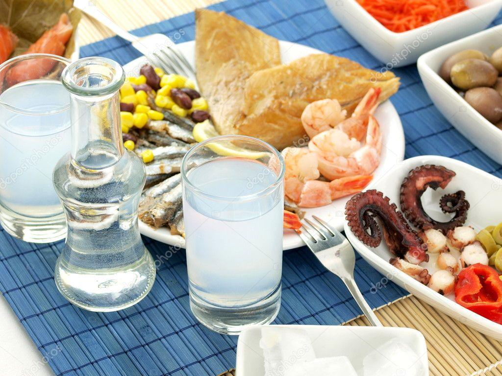 Image result for θαλασσινά ουζάκι