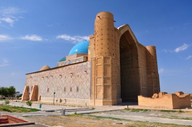 Mausoleum of Khoja Ahmed Yasavi in Turkestan, Kazakhstan