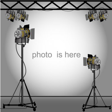 Photo of an empty photographic.