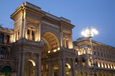 Vittorio Emanuele II Shopping Gallery in Milan, Italy
