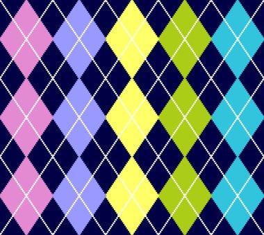 Vector argyle seamless pattern