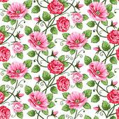bezešvé růže vzorek