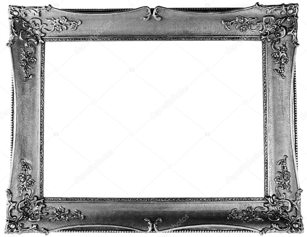 Silver frame — Stock Photo © macniak #4537513