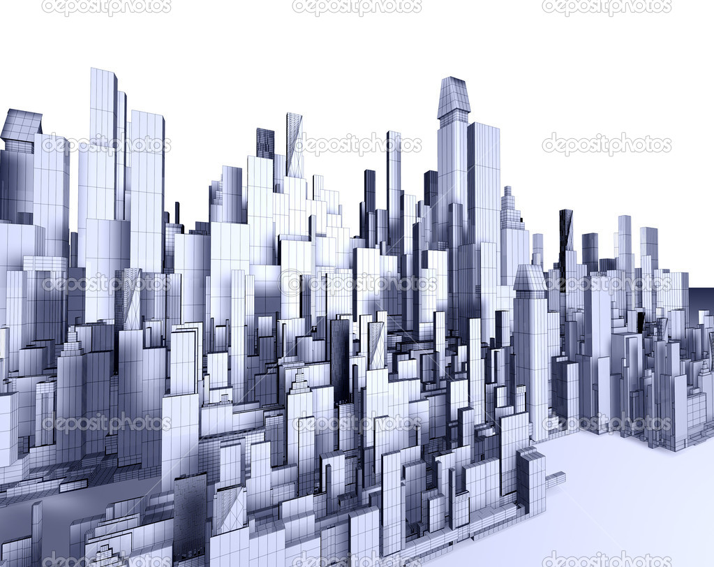Architecture Blueprint Stock Photo C Carloscastilla
