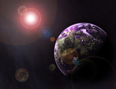 Planetarium background