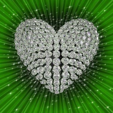 Diamond's heart