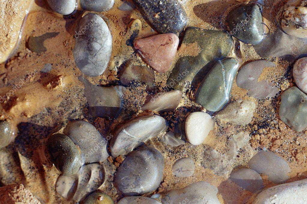 Iridescent stones