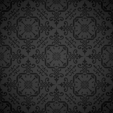 Seamless ornate elegant wallpaper background