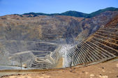 Photo Open Pit Copper Mine