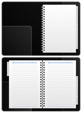Diary Notebook, Ring Binder