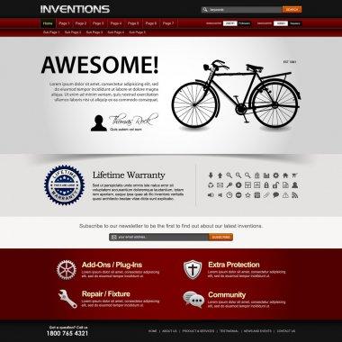 Web Design Website Element Template