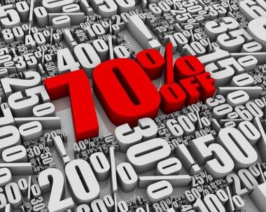 Sale 70% Off!
